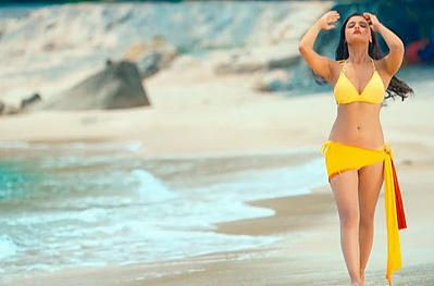 Actress Alia Bhatt in a bikini avatar.     Promising young actress Alia Bhatt is known for her bold roles.