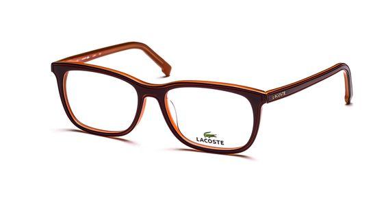 Lacoste Glasses | Bordeaux/Orange