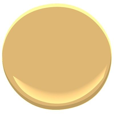 Benjamin Moore Dorset Gold-rich, yellow-orange that infuses any room with sumptuous color.