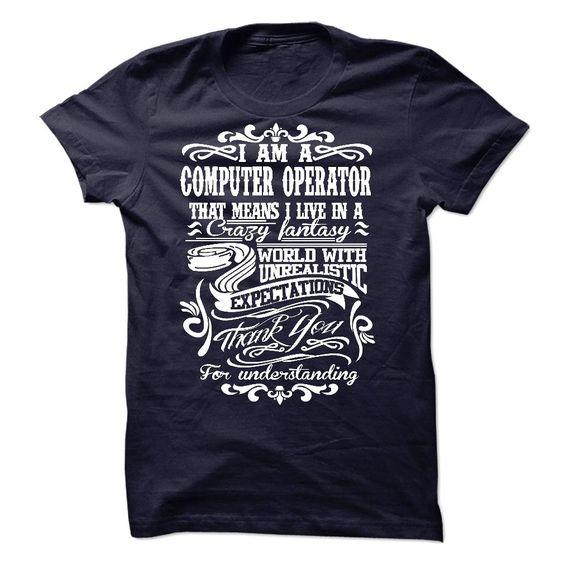 COMPUTER OPERATOR T-Shirts, Hoodies. CHECK PRICE ==►…