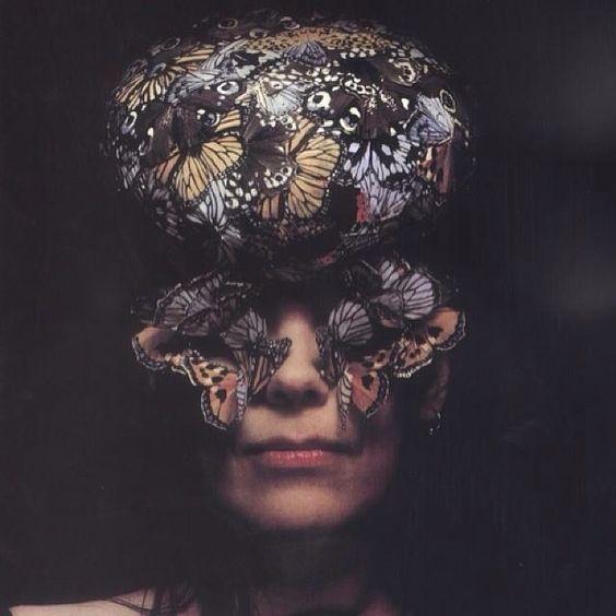 Björk for Alexander McQueen.