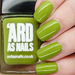 PRE-ORDER 'Ard As Nails- Creme- Dew Drop