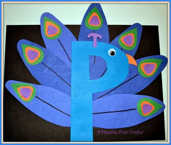 cute letter crafts