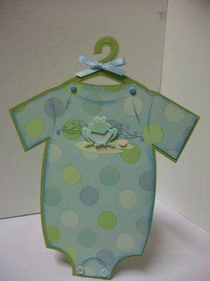 Cute idea for baby boy shower invite