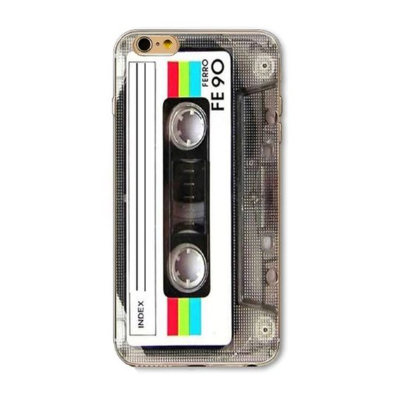 Cassette iPhone 6 / 6s Silicone phone case  iPhone 6 / 6s Soft Silicone phone case. Vintage style cassette tape. New in package. Accessories Phone Cases