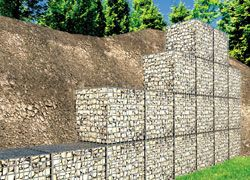 Gabion Baskets  Gabion Mesh widely used in oil,construction,raising,chemical industry warming pipe and etc…It is also used in fence,apartment and greening,The hexagonal wire netting can be used in protect sea wall,hillside,road,bridge and civil engineering.It is one of the best against flooding material.