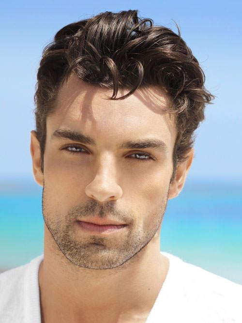 Short Hairstyles For Men With Thick Hair Lifted Higher Short Mens Cut For Wavy Hairgreat For Chad  Hair