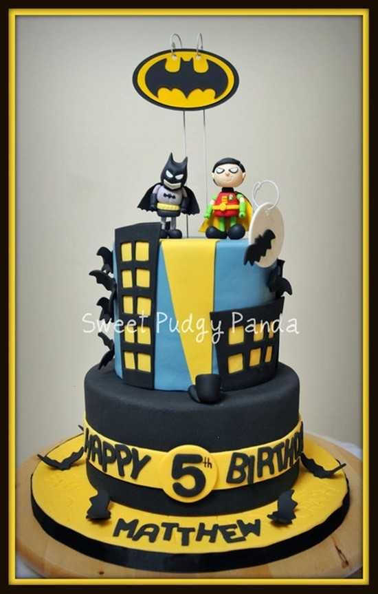 BATMAN CAKE. My boys have their next few cakes already planned out