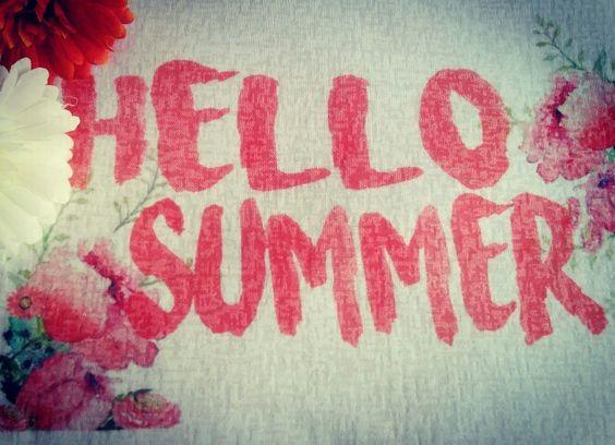 Tee Hello Summer verão 2016 @simstore_oficial