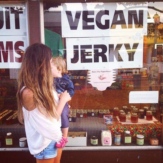 Only in Oregon...vegan jerky
