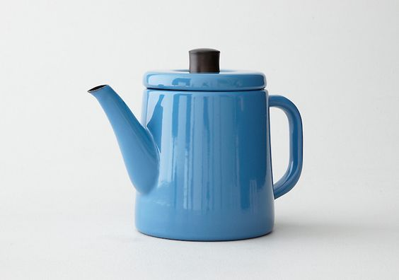 Enamel Pottle from Saikai Toki, Remodelista