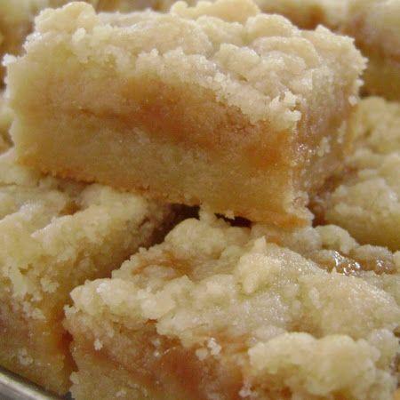 Salted Caramel Butter Bars Recipe | Key Ingredient