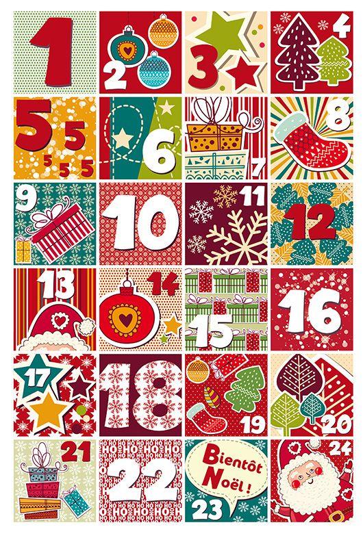 Comptez les jours avant no l avec le calendrier de l 39 avent babymoov un cadeau chaque jour - Calendrier de l avent pinterest ...