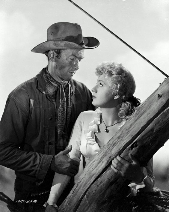 WINCHESTER '73 (1950) - James Stewart & Shelley Winters - Directed by Anthony Mann