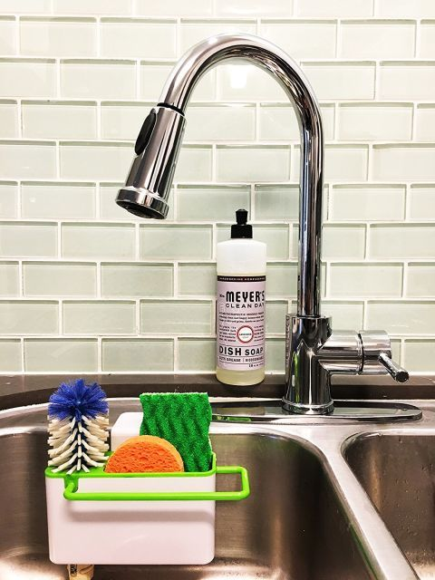 10 Buy Now This Self Draining Organizer Goes Inside Your Sink And Literally Doesn T Take Up In 2020 Sink Organizer Kitchen Sink Organization Kitchen Sink Design