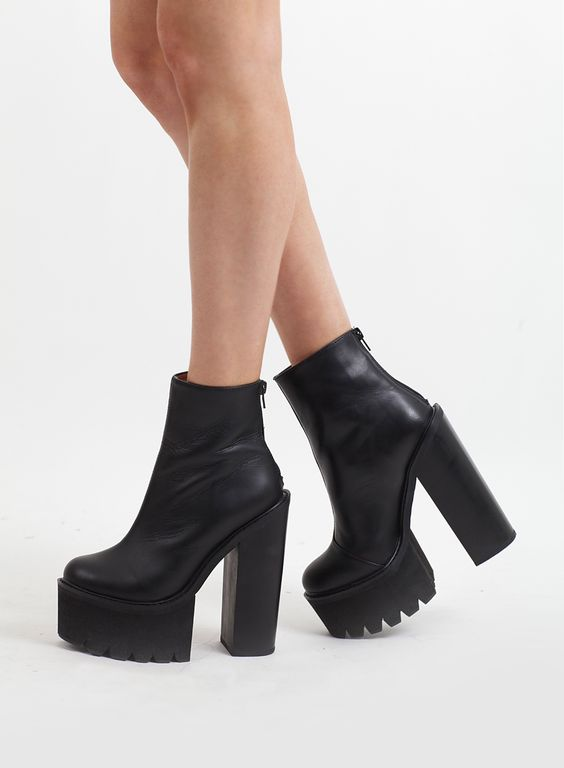 New In! Jeffrey Campbell Mulder Platform Boots £150