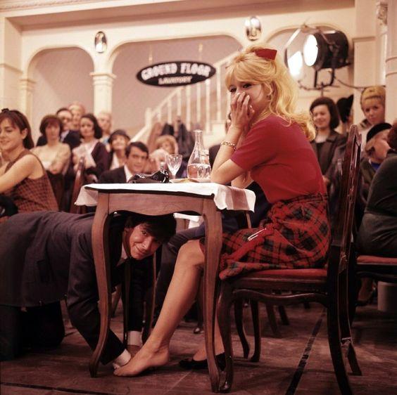 Anthony Perkins, Brigitte Bardot.