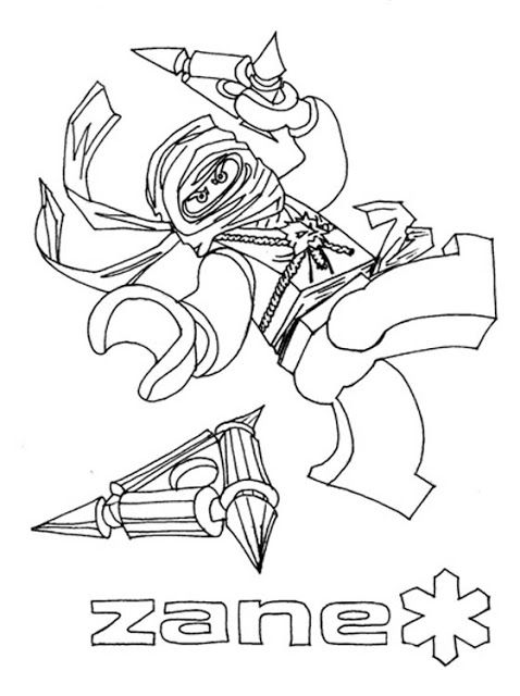 Lego Ninjago Coloring Pages With Images Ninjago Coloring Pages