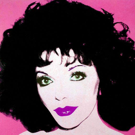 Warhol Andy - Joan Collins 2, 17x17