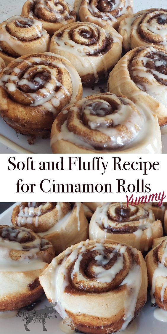 Easy, Homemade Soft and Fluffy Cinnamon Rolls