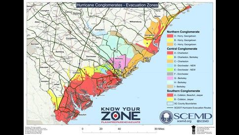 Where Are The Hurricane Dorian Evacuations In Florida South