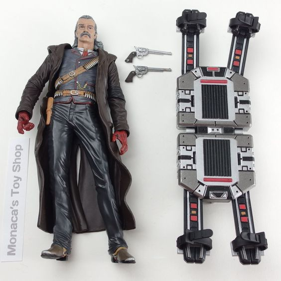 "Metal Gear Solid Revolver Ocelot 6"" Action Figure McFarlane Toys Mint Complete #McFarlaneToys"