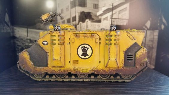 Imperial Fists Rhino