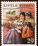 'Little Women' postage stamp