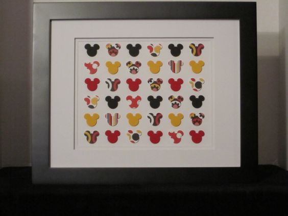 Mickey Mouse Punch Art Collage by PaMimiDZines on Etsy