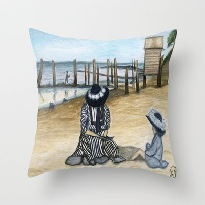 1902 Throw Pillow by Art by Elle - $20.00