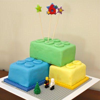 Lego Birthday Cake for my 6yo
