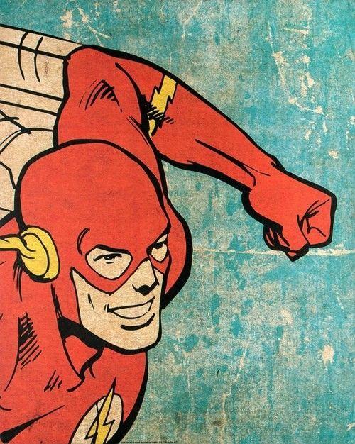 Pop Art Dc Flash Artdesign Pop Art Superhero Pop Art