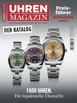 UHREN-MAGAZIN Preisführer 2015/2016: