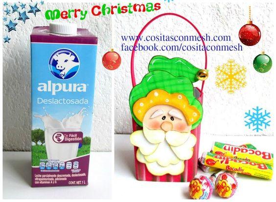 Un estupendo reciclaje navideño con el que sorprenderás a los más peques de la casa.