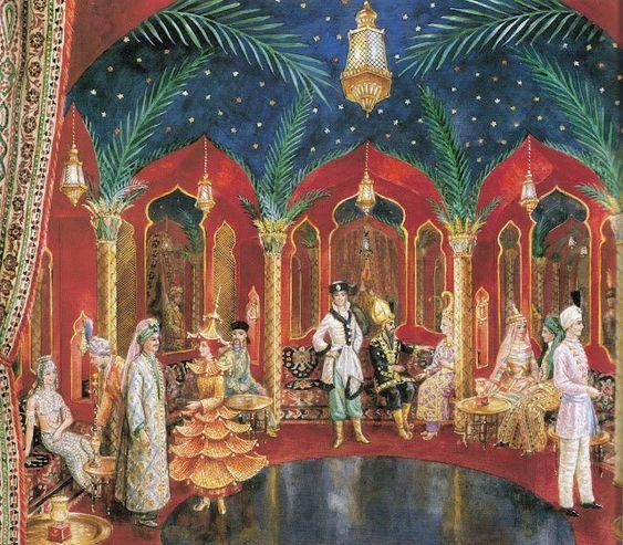 Hôtel Lambert. Le Bal Oriental - Восточный Бал в Париже.. Обсуждение на LiveInternet - Российский Сервис Онлайн-Дневников