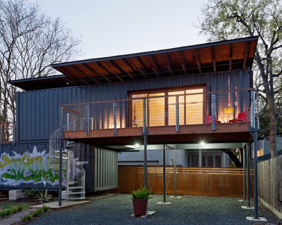 Pinterest the world s catalog of ideas - Shipping container homes chicago ...