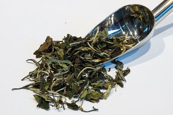 Té Blanco Pai Mu Tan. Contiene las dos primeras hojas del brote de té. Se elabora artesanalmente en #China