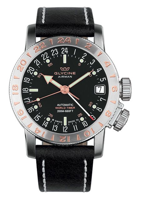 Airman 17 bezel with 5N red gold figures