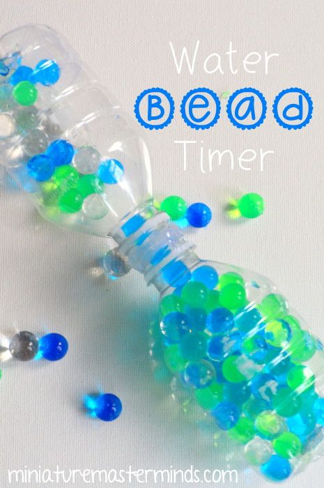diy project water bead timer projects and miniature