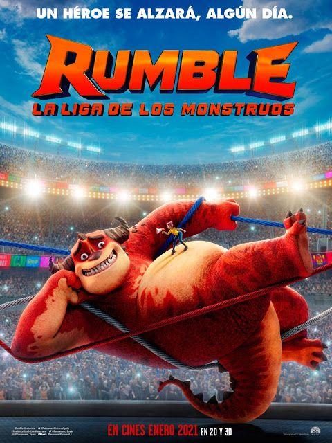 Trailer De La Pelicula Animada De Rumble La Liga De Los Monstruos Peliculas Animadas Peliculas Peliculas De Animacion