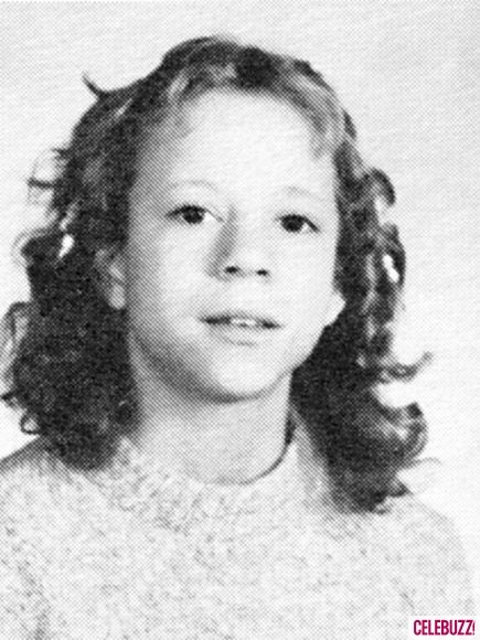 Mariah Carey 7th Grade 1982 Oldfield Junior High, Greenlawn, NY