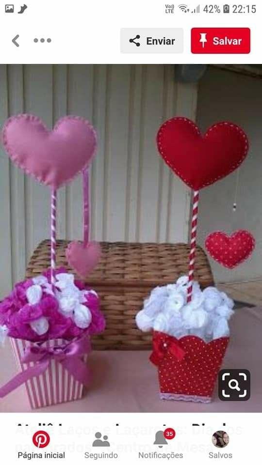Pin De Dennia En Madre Bricolaje Del Dia De San Valentin