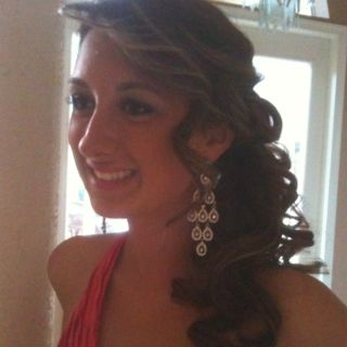 Prom hair:))