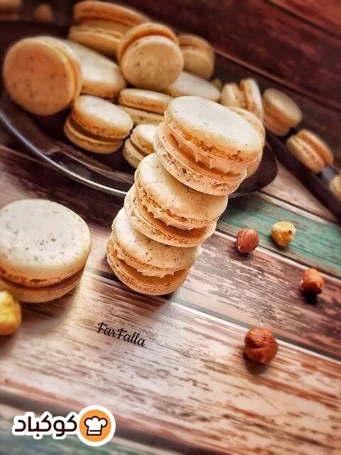 ماكرون البندق بالصور من Farfalla Recipe Food Macarons Breakfast