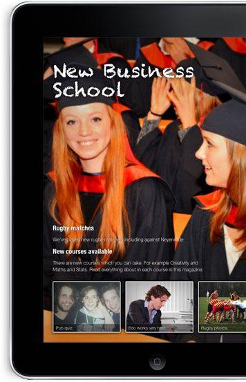 Online magazine publishing software.