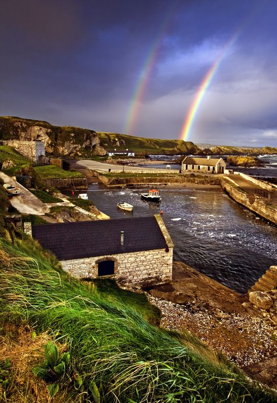 Ballintoy Harbour, County Antrim, Northern Ireland