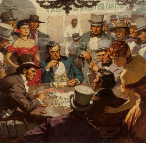 saul-tepper-american-1899-1987-poker-game-circa-1940-oil-on-canvas-laid-on-panel-24-x-24-