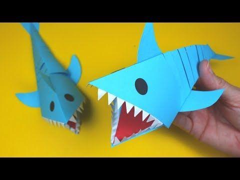 Origami Shark Easy Instructions | 360x480