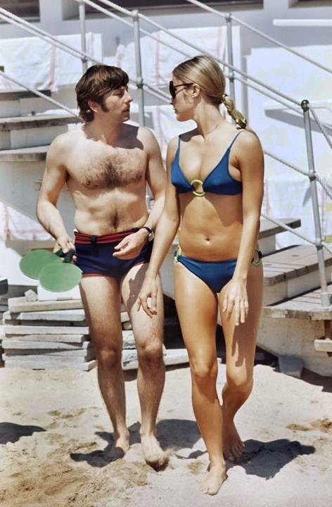 Roman Polanski Movie Director And His Wife Sharon Tate