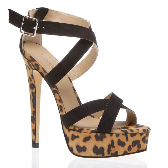 Sky high :) With leopard print :)